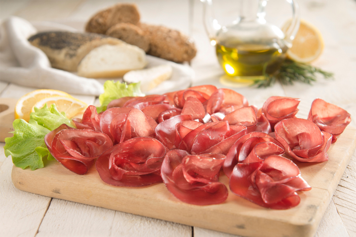 Alimenti con meno di 120 calorie: bresaola