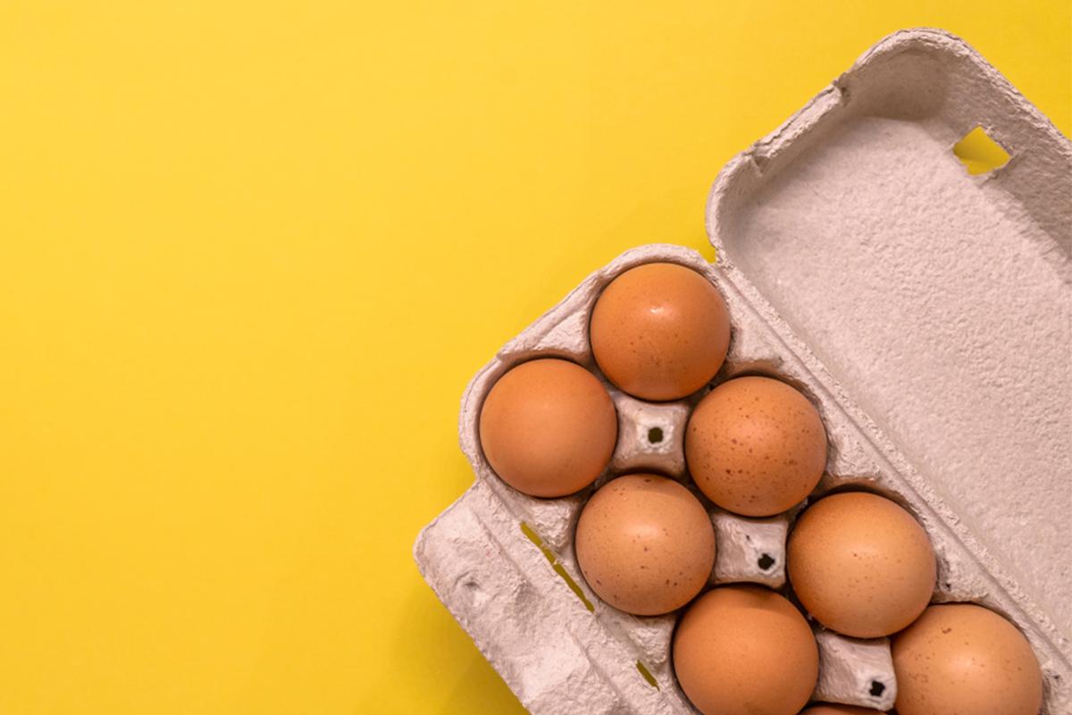 Alimenti con meno di 120 calorie: uova