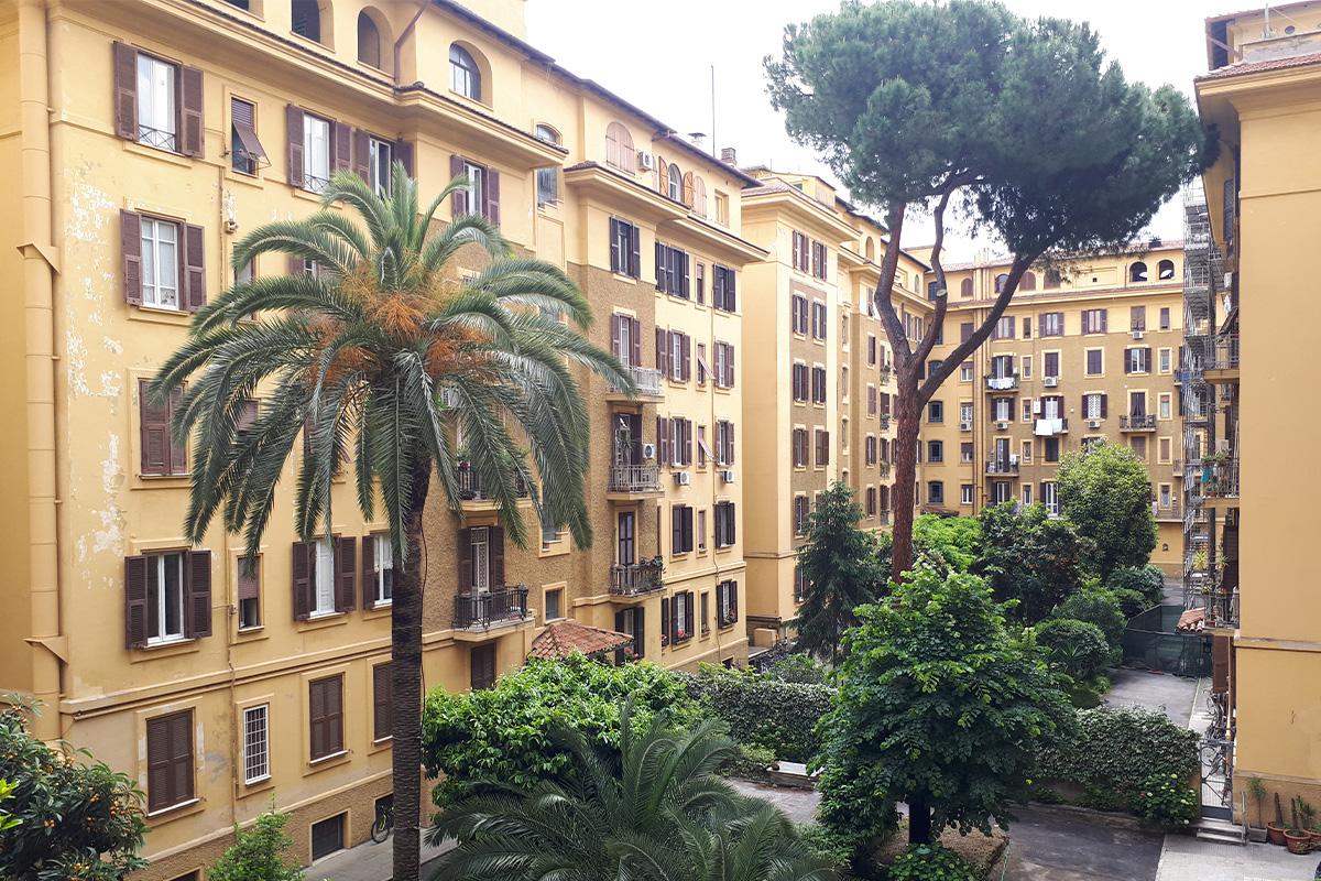 Alla scoperta di Roma: condominio anni 20