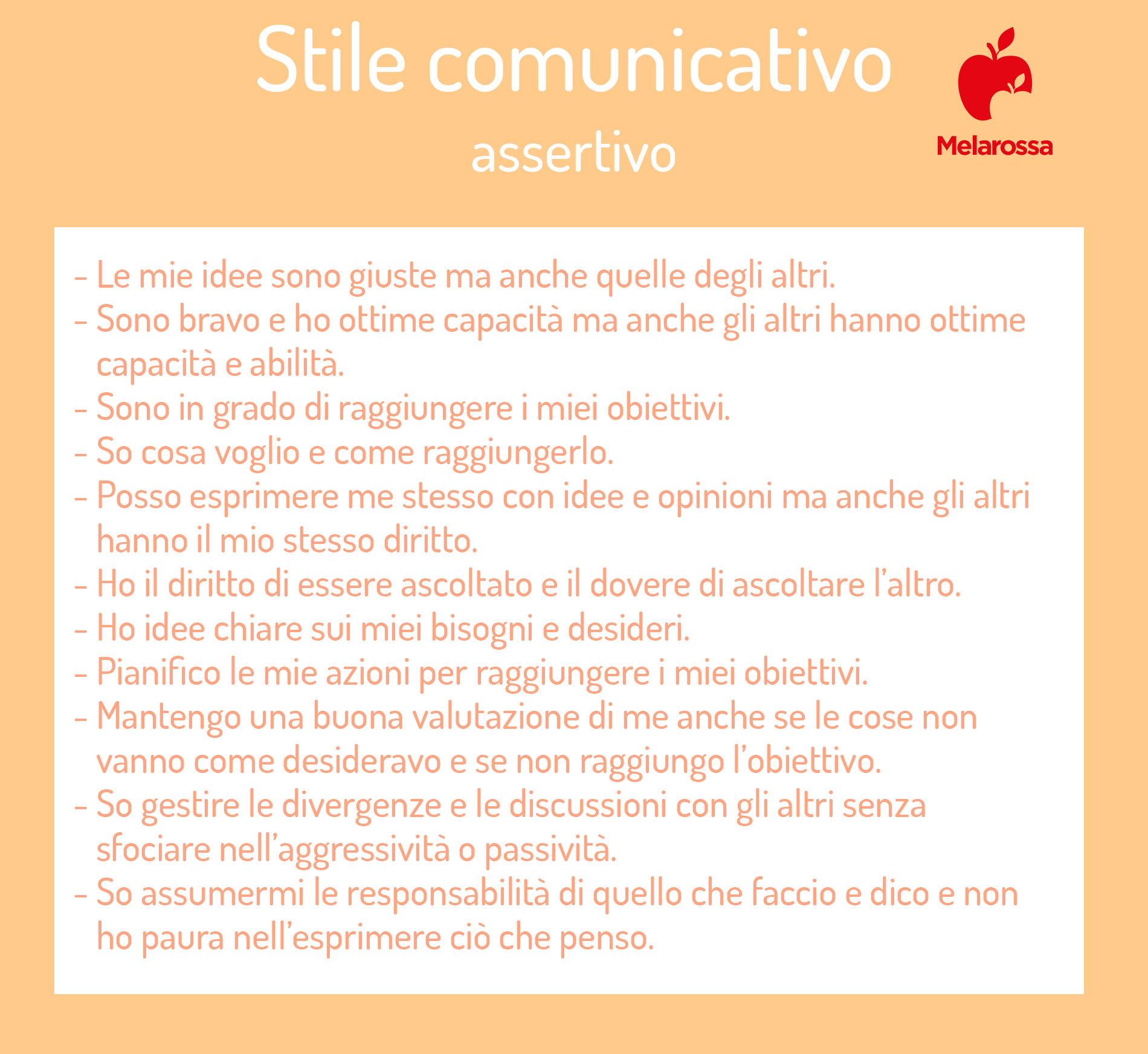 assertività: stile comunicativo