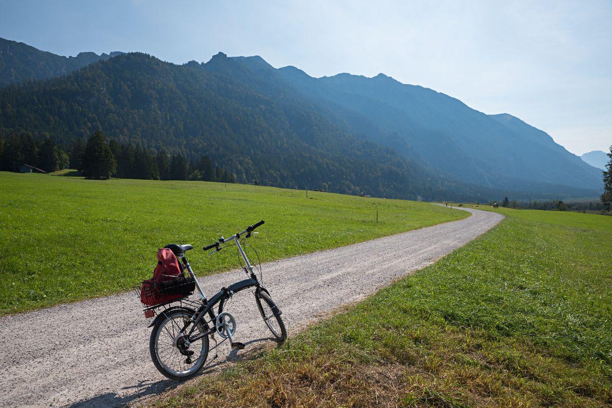 bici pieghevole tradizionale