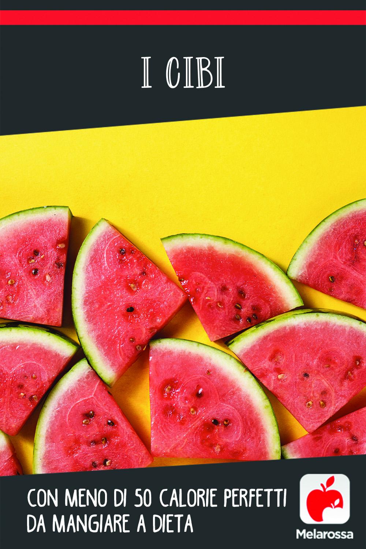 I cibi con meno di 50 calorie perfetti da mangiare a dieta