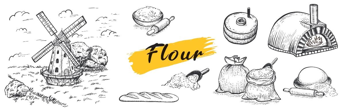 Perché la farina di manitoba è diversa dalle altre farine