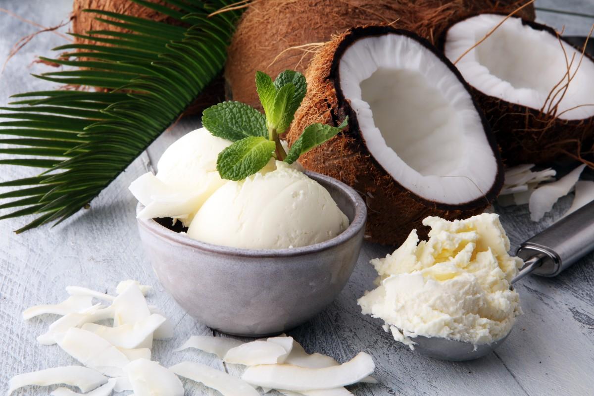 gelato al cocco: calorie