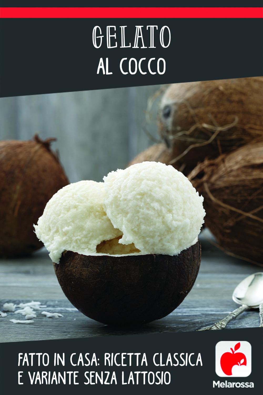 gelato al cocco fatto in casa