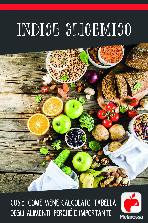 indice glicemico, cos'è, classifica, alimenti con alto e basso Ig