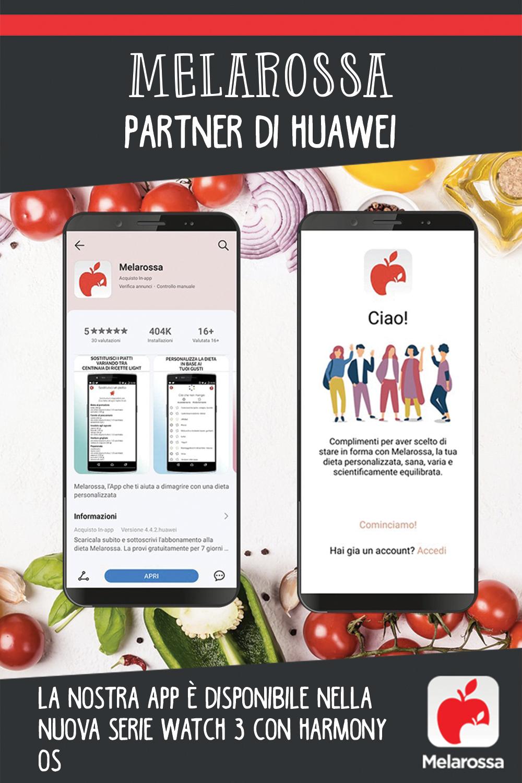 Melarossa partner di Huawei: la nostra app è disponibile nella nuova serie Watch 3 con HarmonyOs