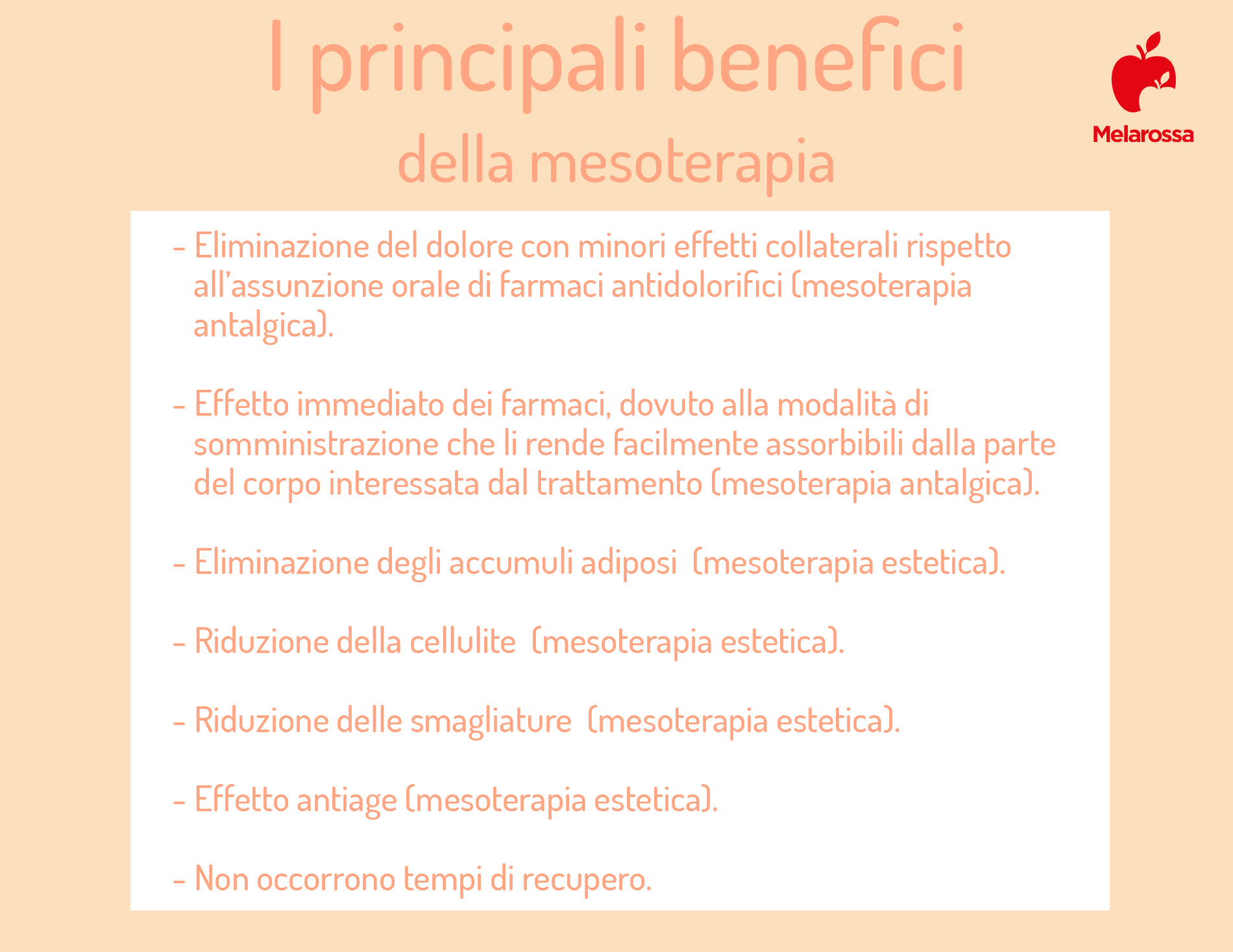 mesoterapia: benefici