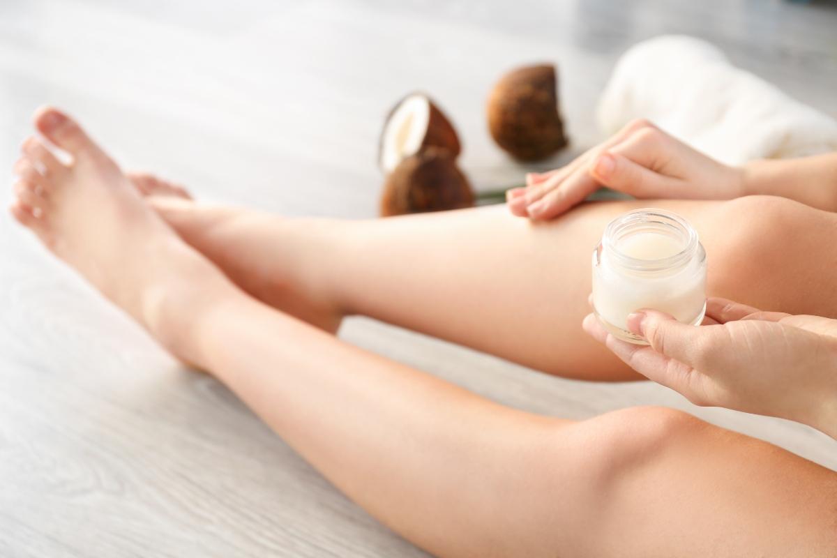 olio di cocco: idratante per il corpo
