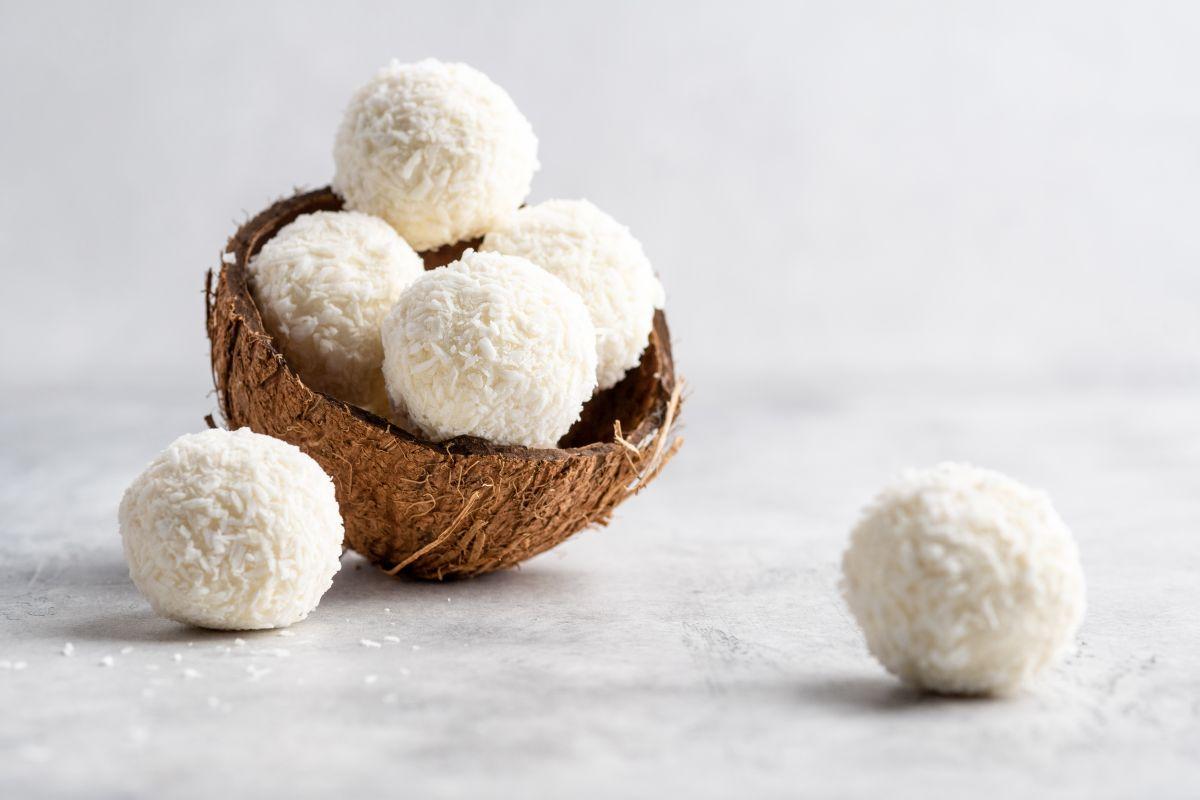 palline di cocco senza glutine