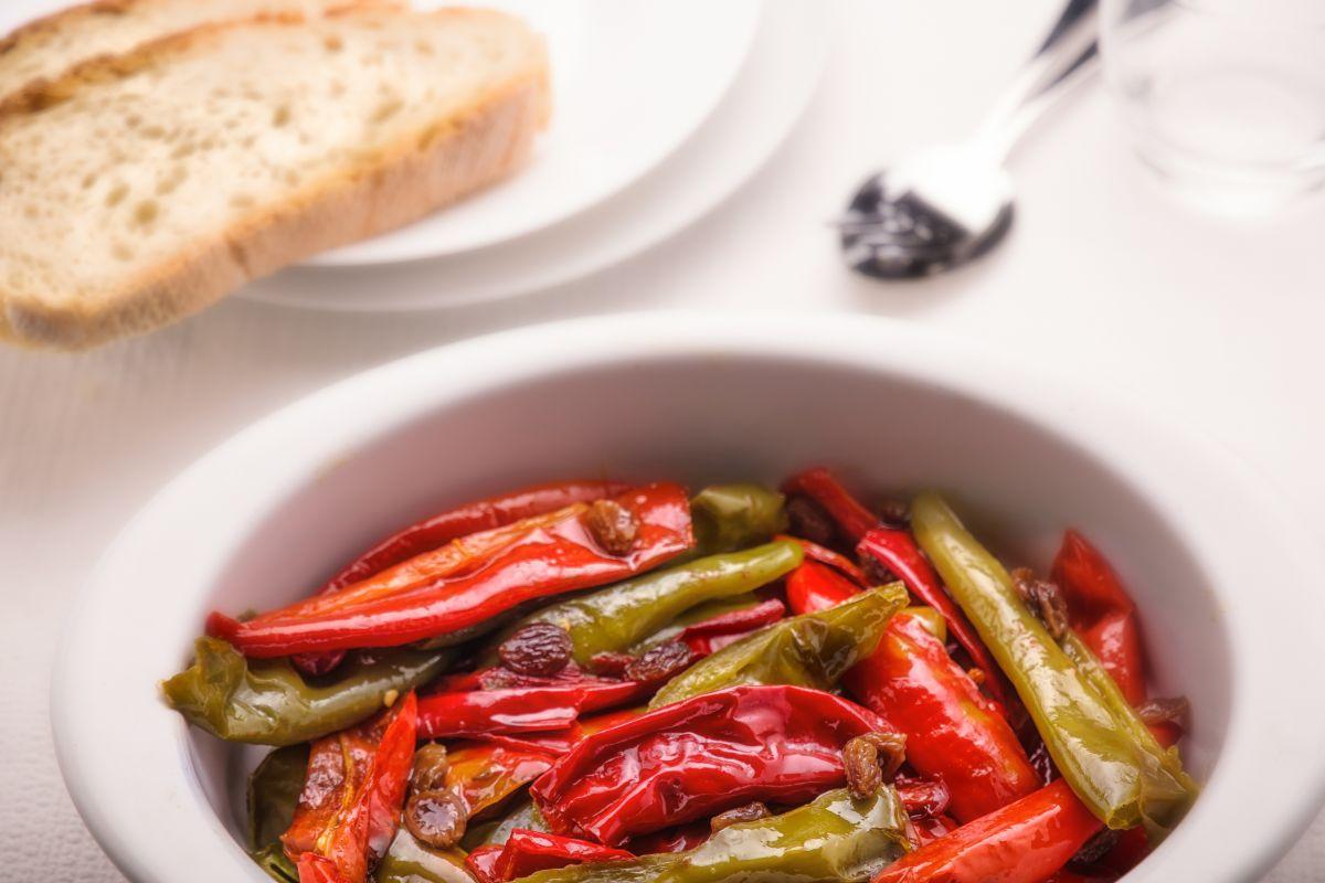 peperoni in agrodolce: gustosi e leggeri