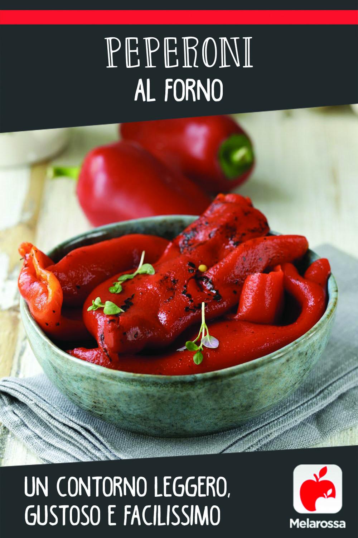 peperoni al forno: un contorno leggero, gustoso e facilissimo