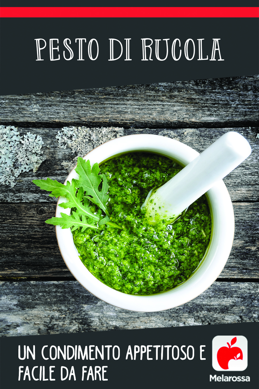 Pesto di rucola: un condimento appetitoso e facile da fare