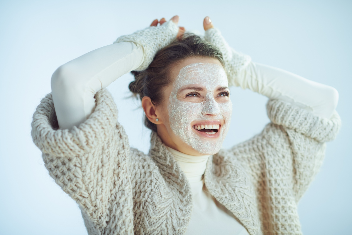 riso: maschera di bellezza