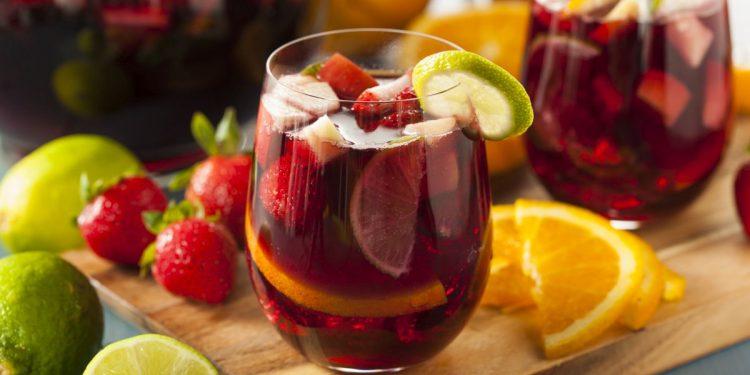 Sangria: dolce e fresca