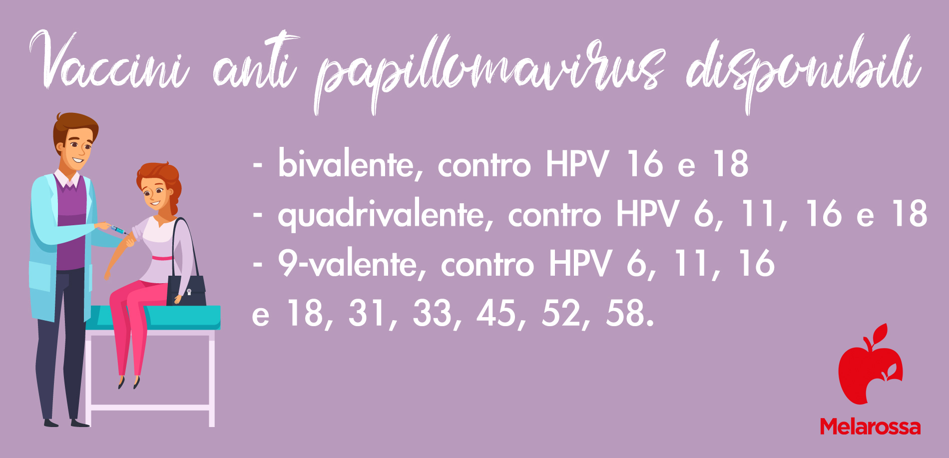 MST, papilloma virus vaccini