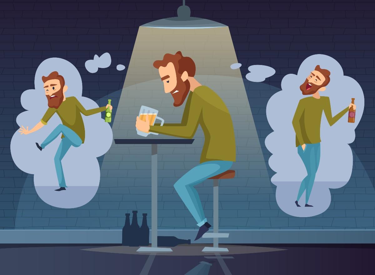alcolismo: effetti sulla psiche