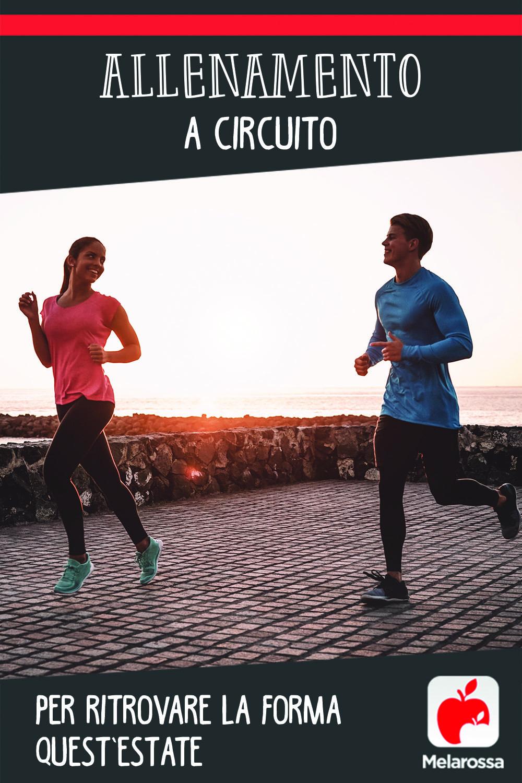 allenamento a circuito: scheda  di allenamento per ritrovare la forma