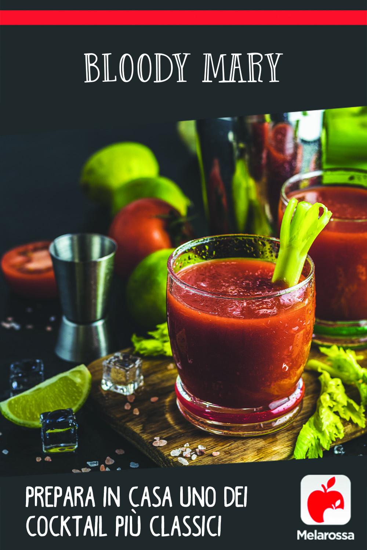 Bloody Mary: prepara in casa uno dei cocktail più classici
