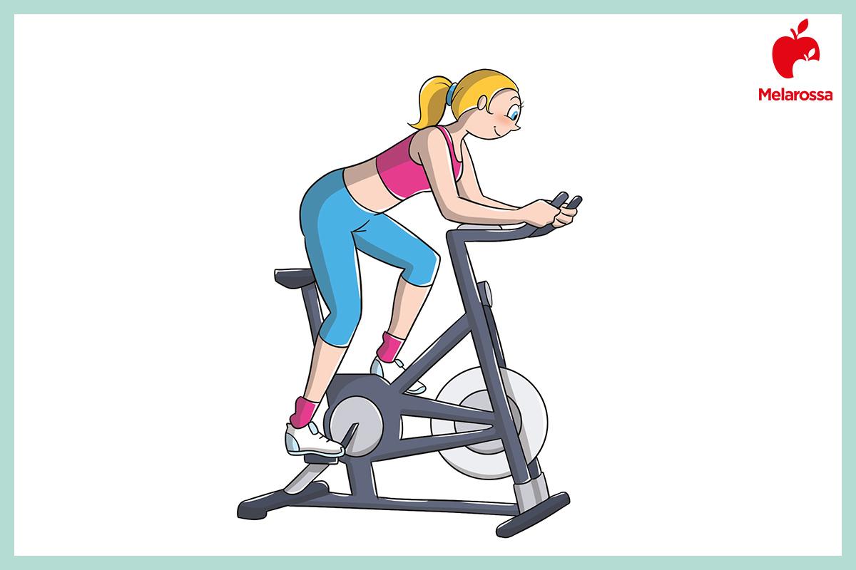 circolazione sanguigna: cyclette