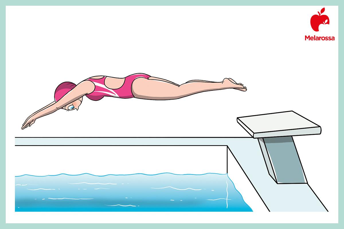 circolazione sanguigna: nuoto
