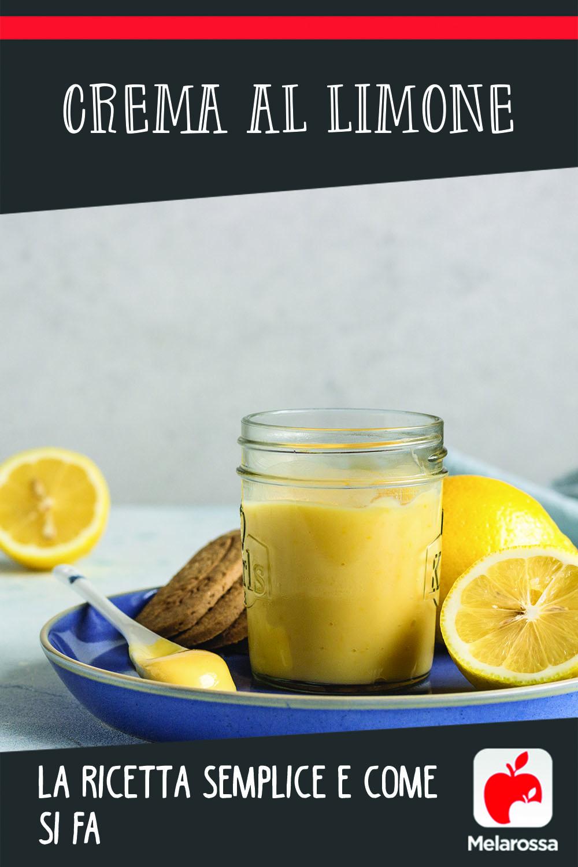 crema al limone come si fa
