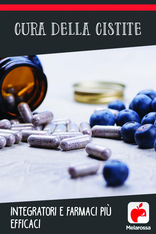 cura della cistite: integratori e farmaci