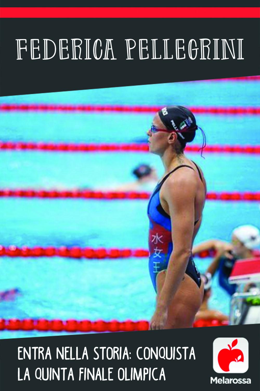Federica Pellegrini entra nella storia: conquista la quinta finale olimpica