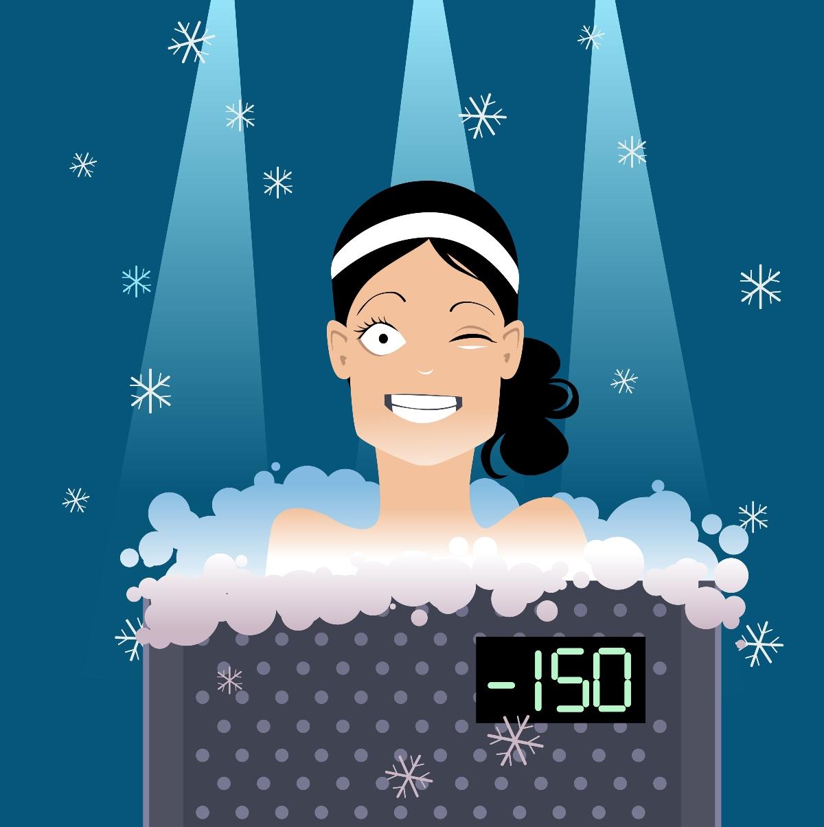 temperature della crioterapia