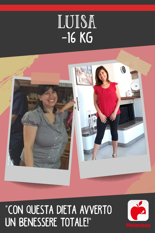 Testimonial Melarossa Luisa 16 kg