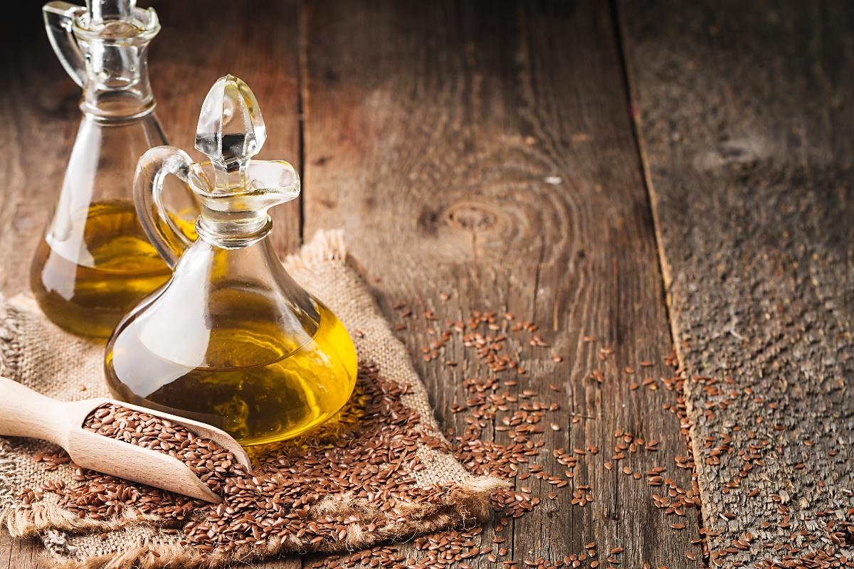 olio di semi di lino: usi e benefici