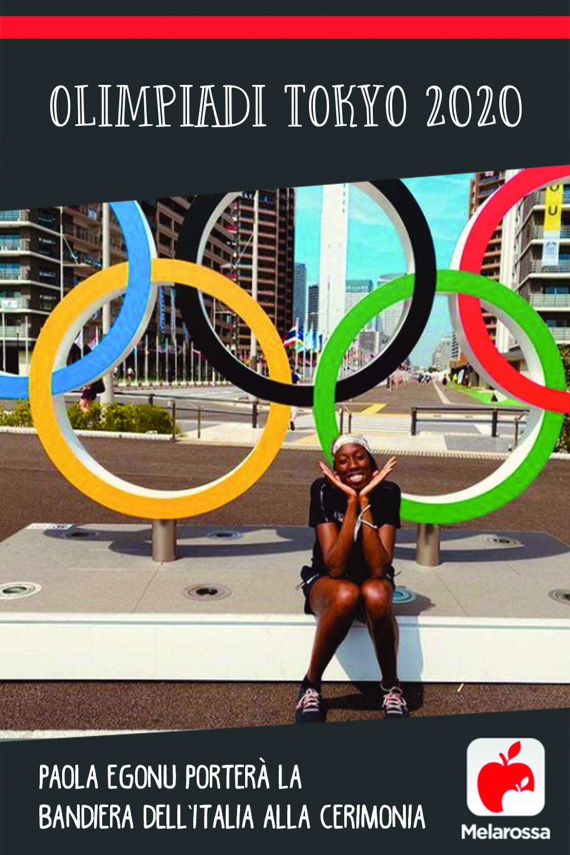 Olimpiadi Tokyo 2020: Paola Egonu porterà la bandiera dell'Italia alla cerimonia di apertura