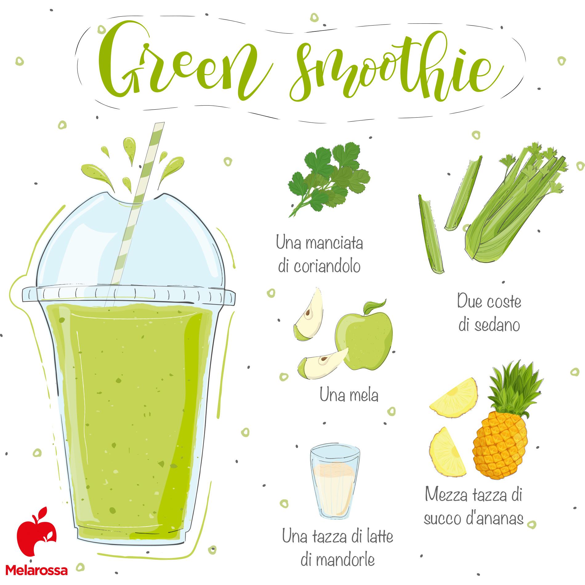 preparare uno smoothie: la ricetta del green smoothie