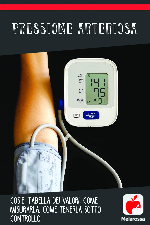 pressione arteriosa: cos'è, come misurarla, tabella dei valori, conseguenze per la salute della pressione alta