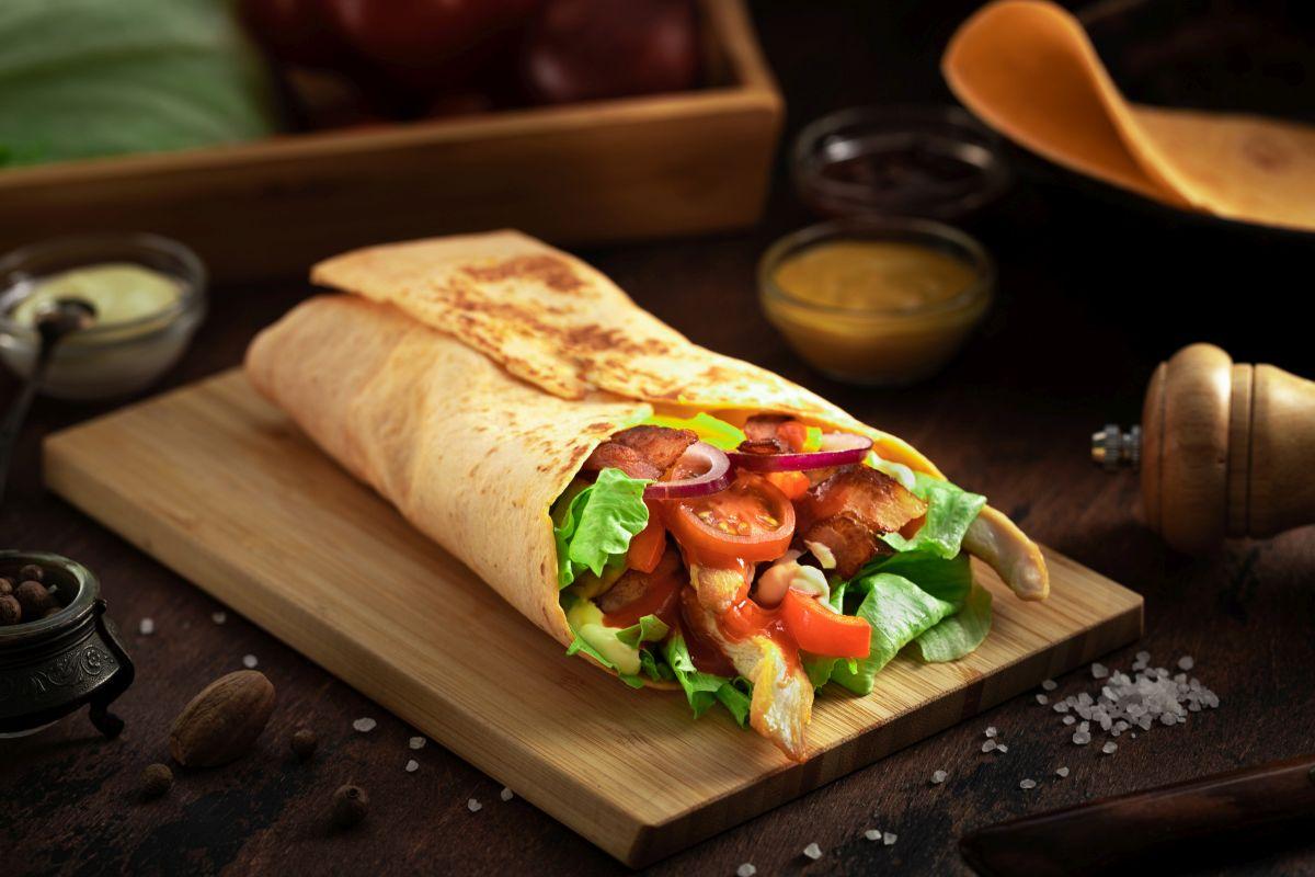 Burrito: provalo con il pollo