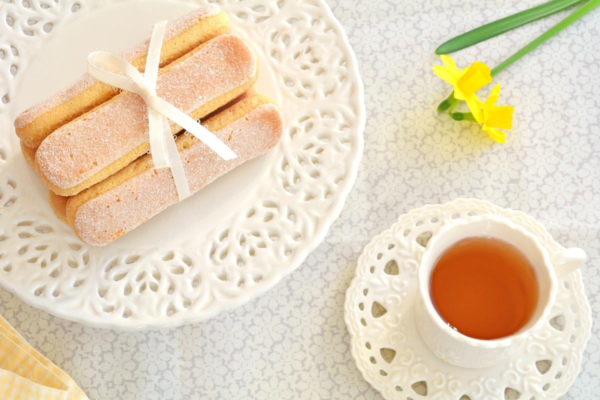 Savoiardi al limone: la ricetta senza glutine.