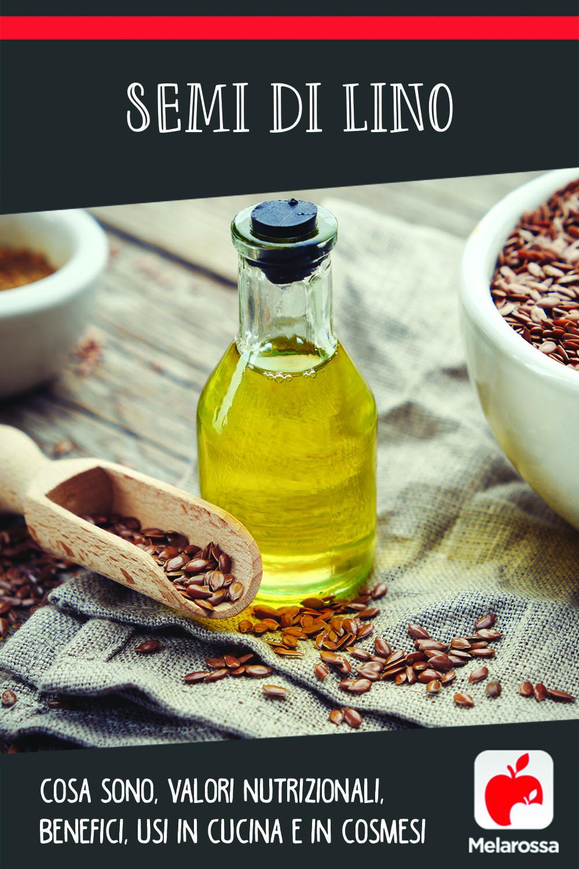 semi di lino: cos'è, valori nutrizionali, usi e benefici