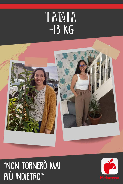testimonial melarossa Tania 13 kg