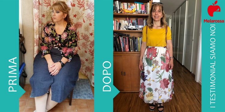 Dieta melarossa Vincenza 34 kg