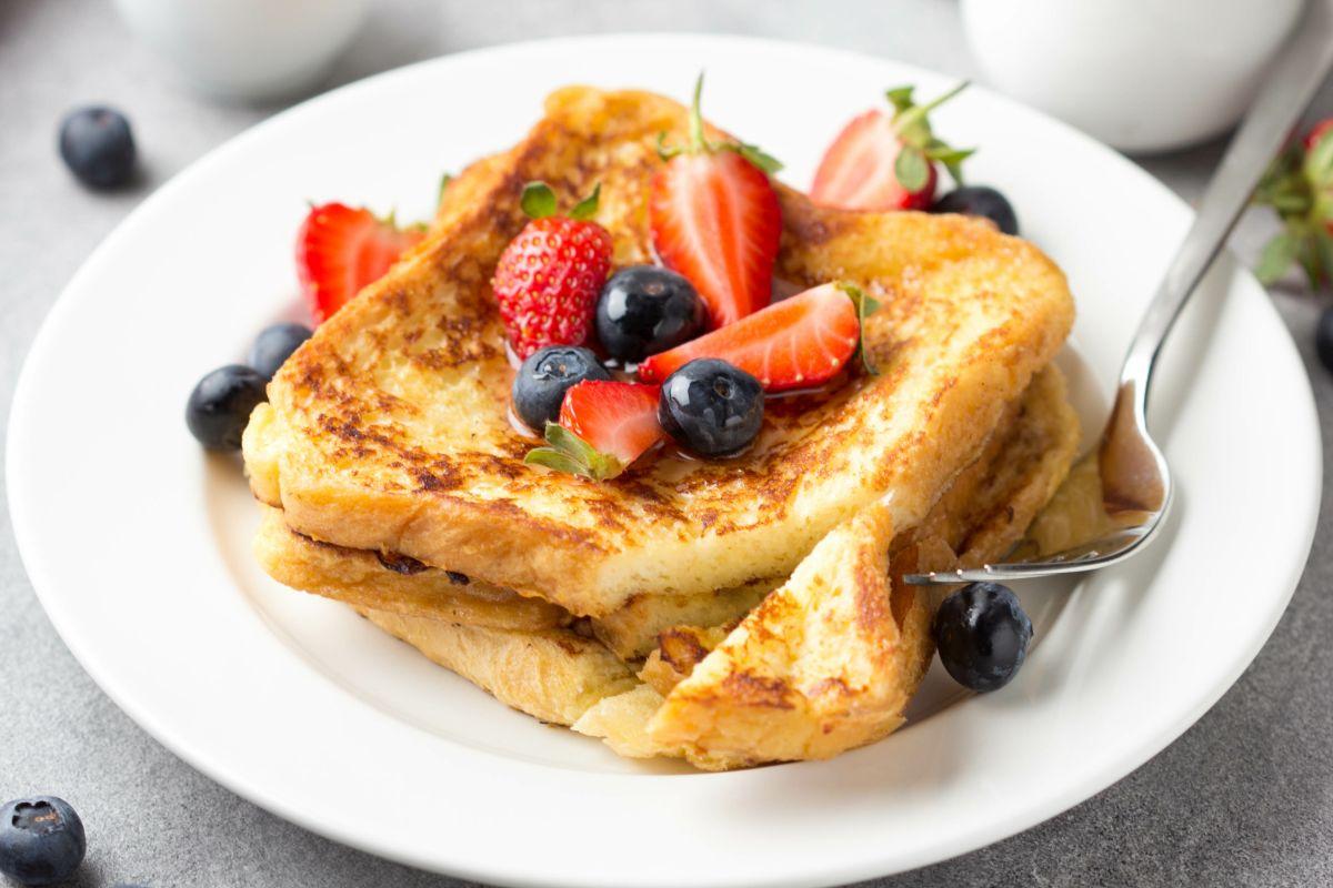 French toast: provali con la frutta