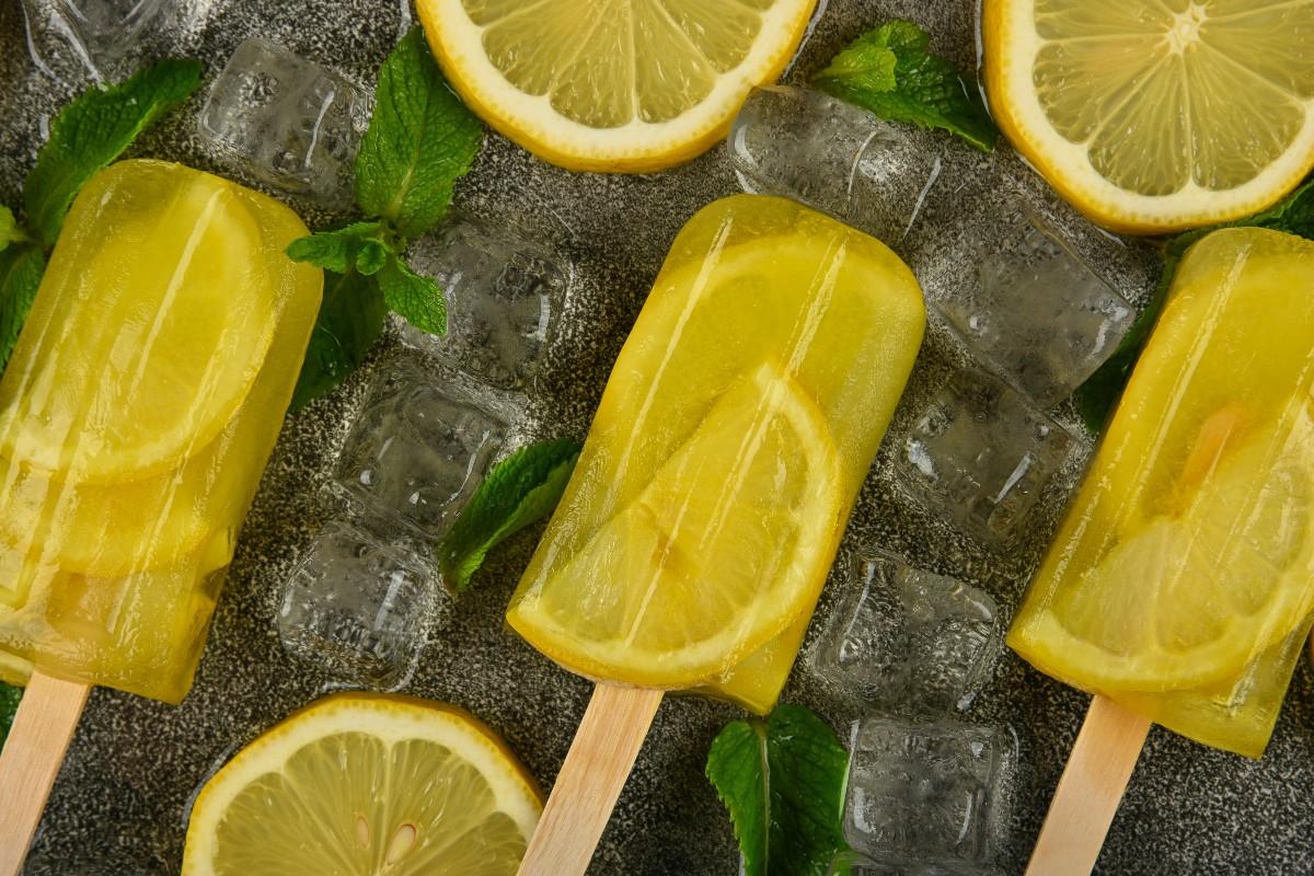 ghiaccioli al limone ricetta