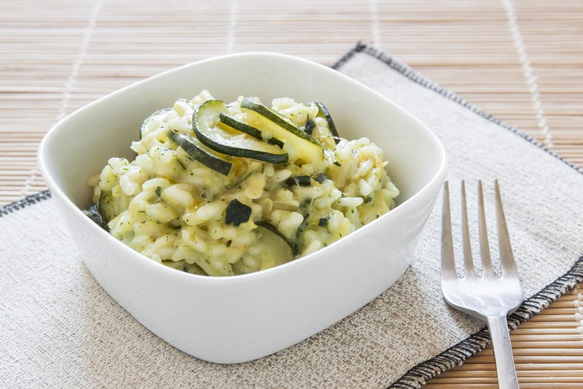 ricetta del risotto con zucchine