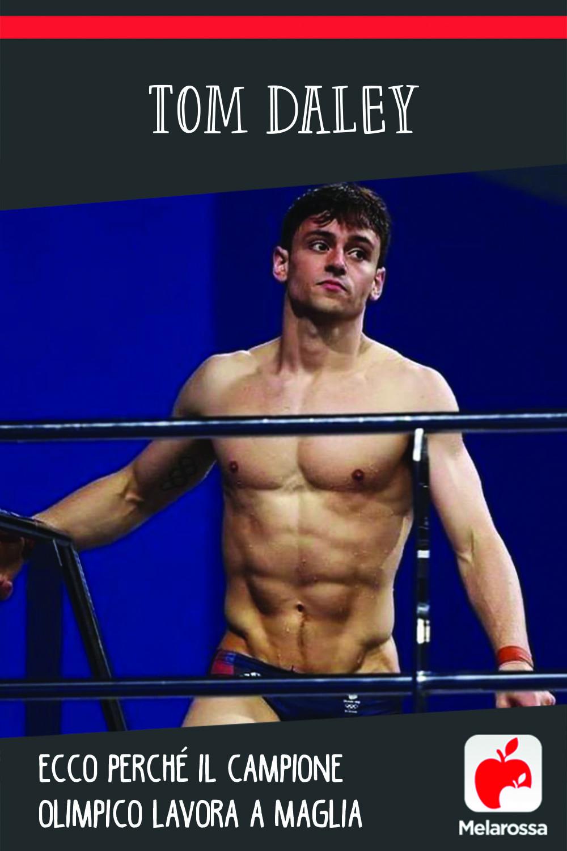 Tom Daley, ecco perché il campione olimpico lavora a maglia