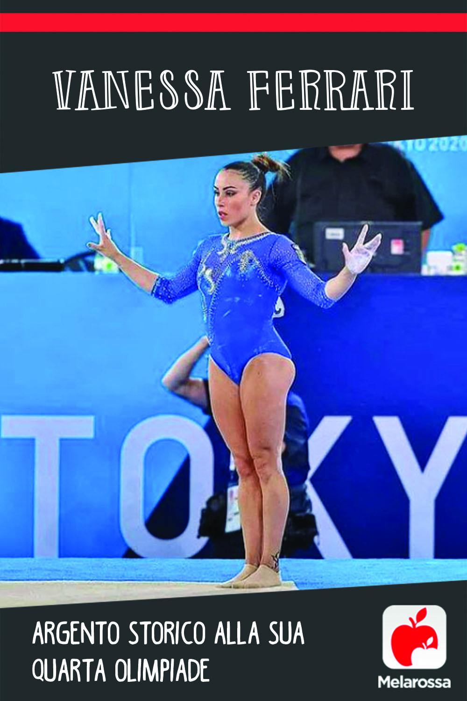 Vanessa Ferrari: argento storico alla sua quarta Olimpiade