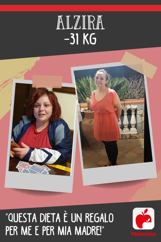 Testimonial Melarossa Alzira 31 kg