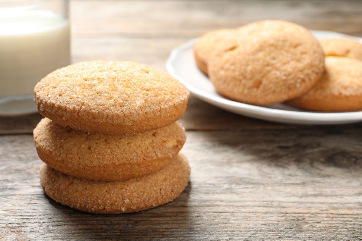 biscotti al burro: dolci e friabili