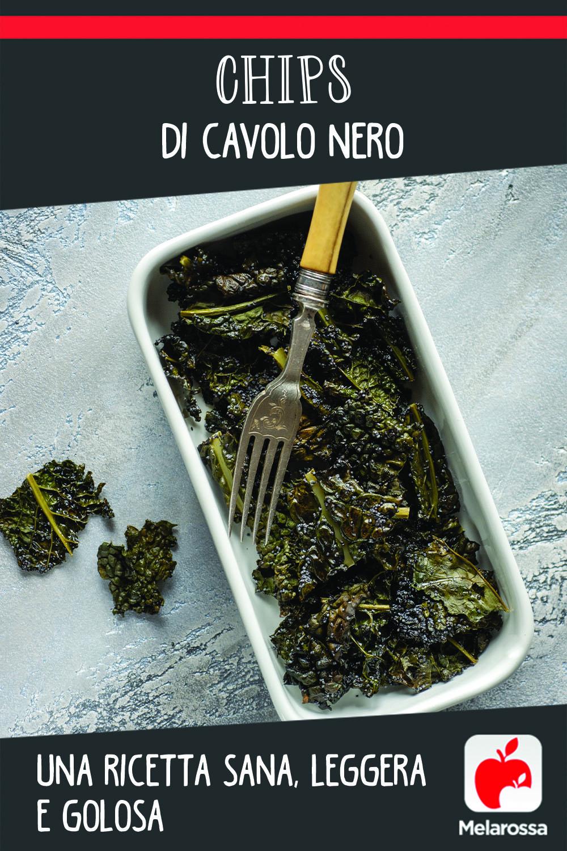 Chips di cavolo nero: una ricetta sana, leggera e golosa