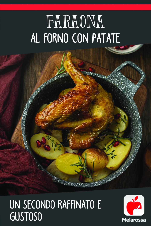 faraona al forno: un secondo raffinato e gustoso