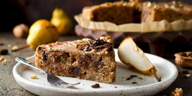 torta pere e cioccolato, gli ingredienti