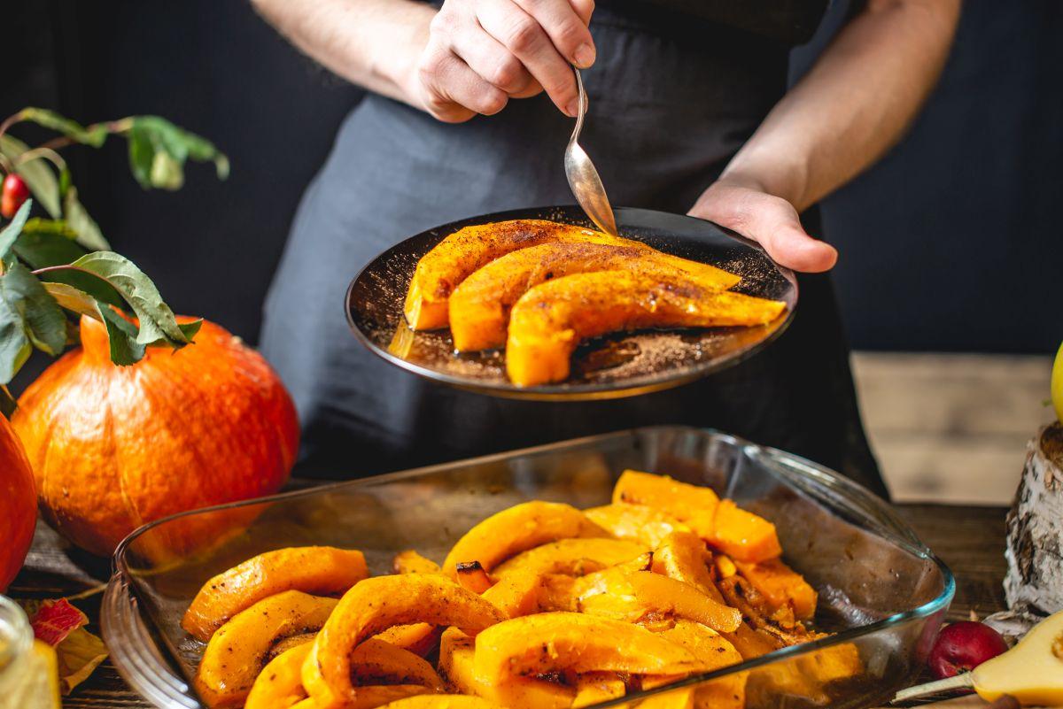 zucca al forno, la base per altre ricette